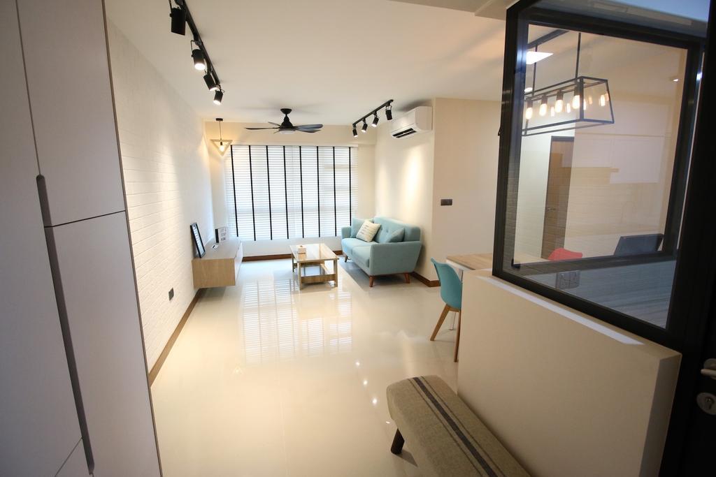 Minimalistic, HDB, Dining Room, Compassvale Crescent, Interior Designer, Unity ID