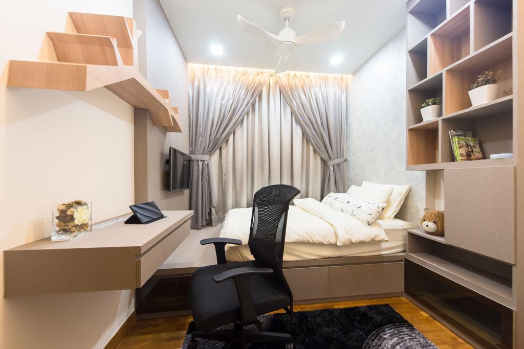 Modern, Condo, Bedroom, Seastrand, Interior Designer, Unity ID