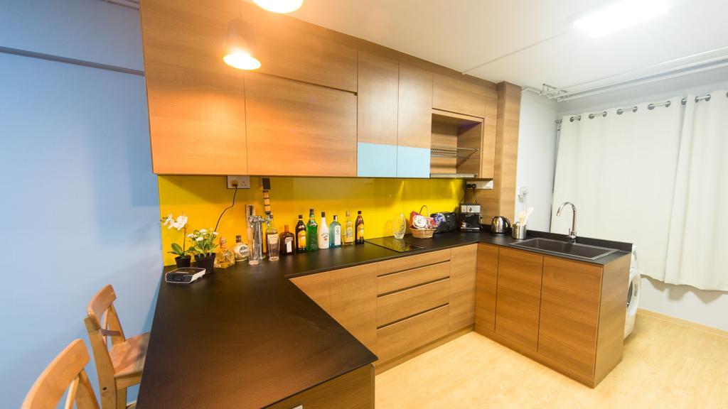 Scandinavian, HDB, Kitchen, Serangoon Avenue 3, Interior Designer, Unity ID
