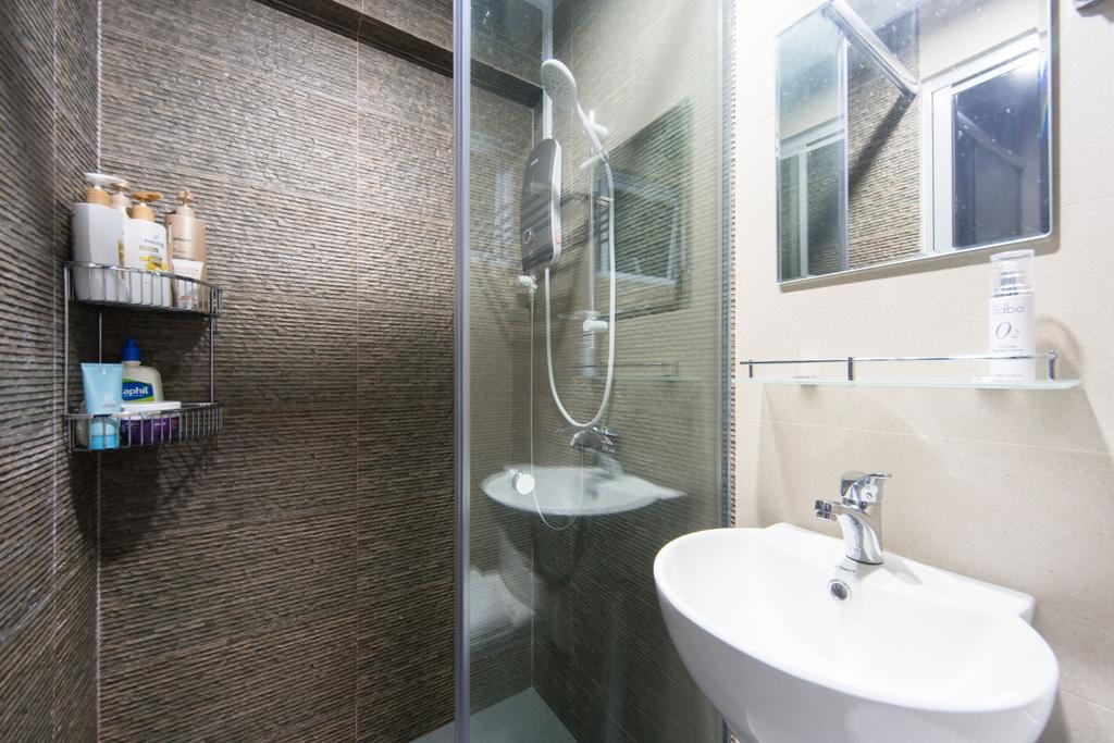 Scandinavian, HDB, Bathroom, Serangoon Avenue 3, Interior Designer, Unity ID