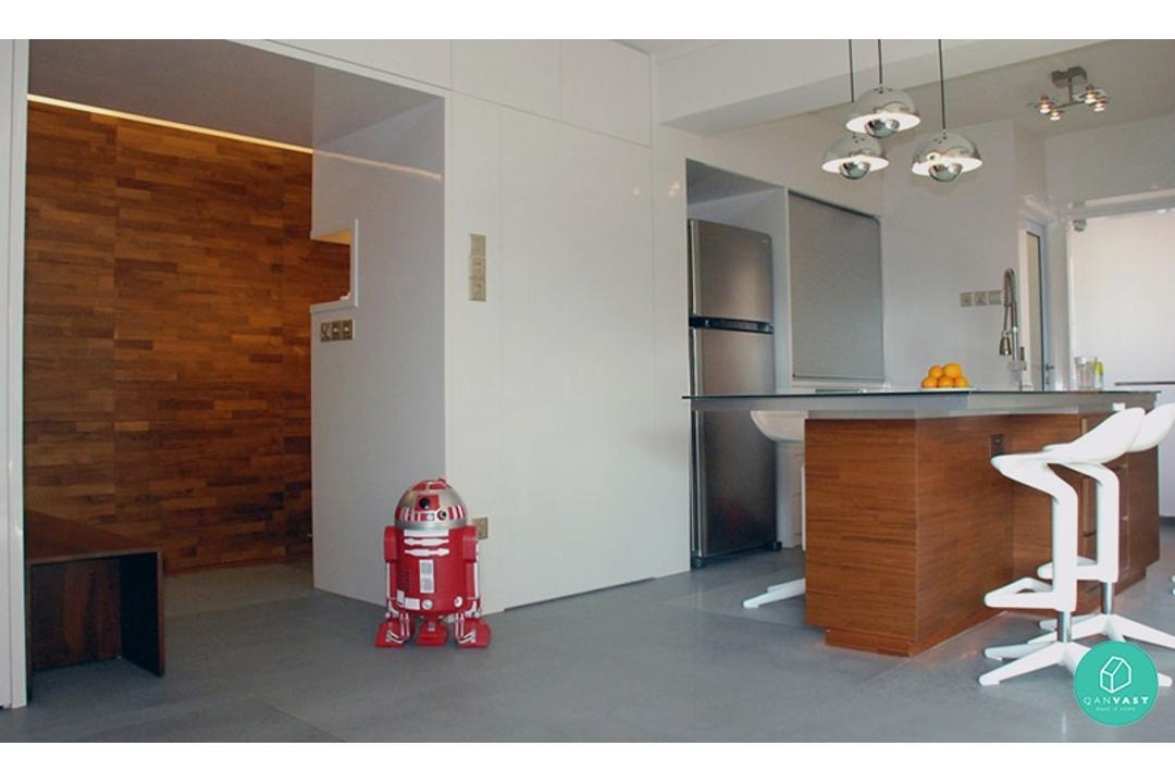 Aiden-T-Starwars-dining-kitchen-hallway