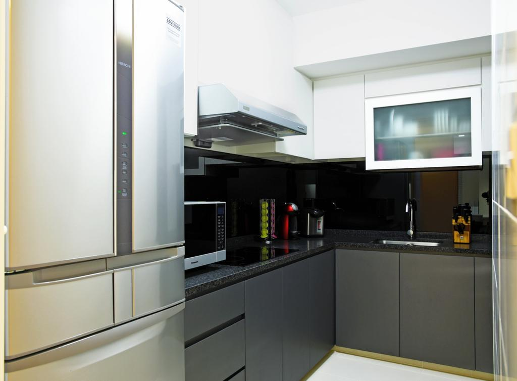 Modern, HDB, Kitchen, Dawson Sky Terrace, Interior Designer, DS 2000 Interior & Design