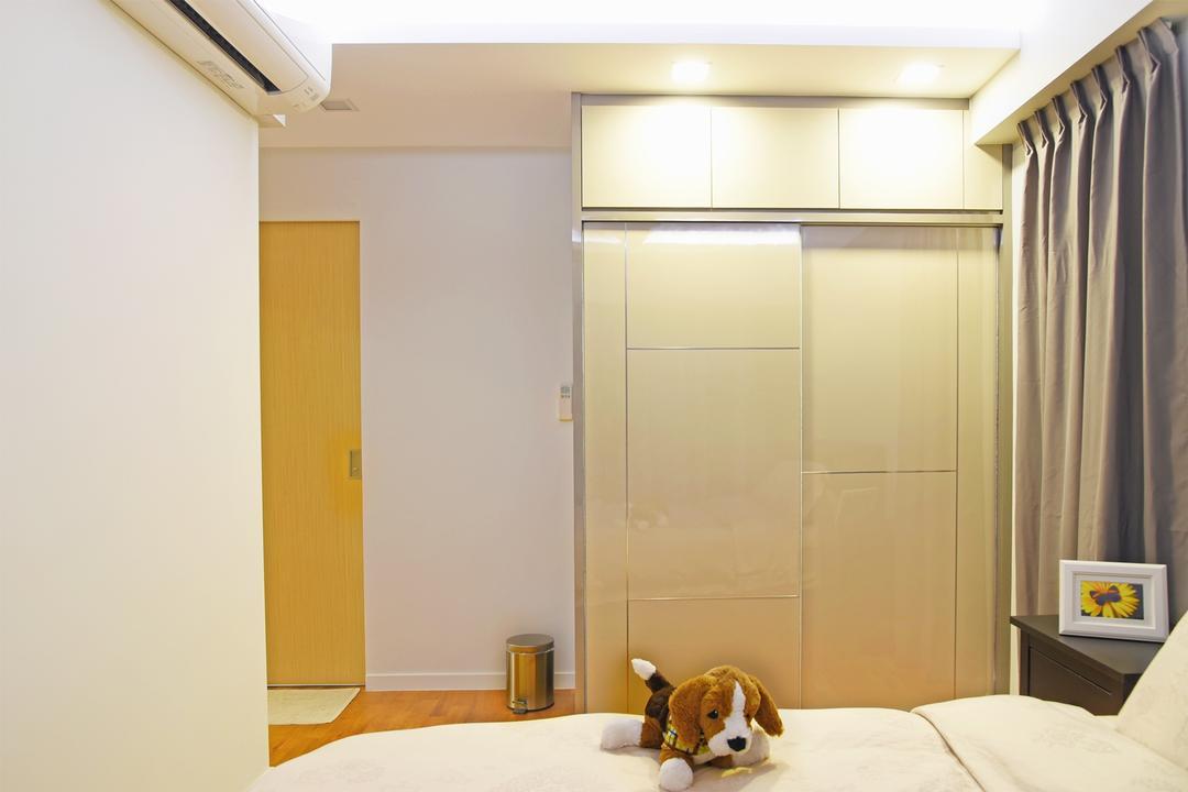 Dawson Sky Terrace, DS 2000 Interior & Design, Modern, Bedroom, HDB, Animal, Beagle, Canine, Dog, Hound, Mammal, Pet, Indoors, Interior Design
