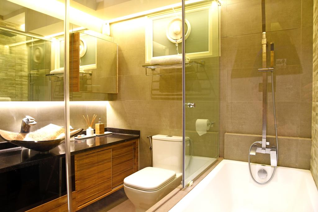 Traditional, HDB, Bathroom, Jurong, Interior Designer, DS 2000 Interior & Design, Indoors, Interior Design, Room, Appliance, Electrical Device, Oven, Toilet