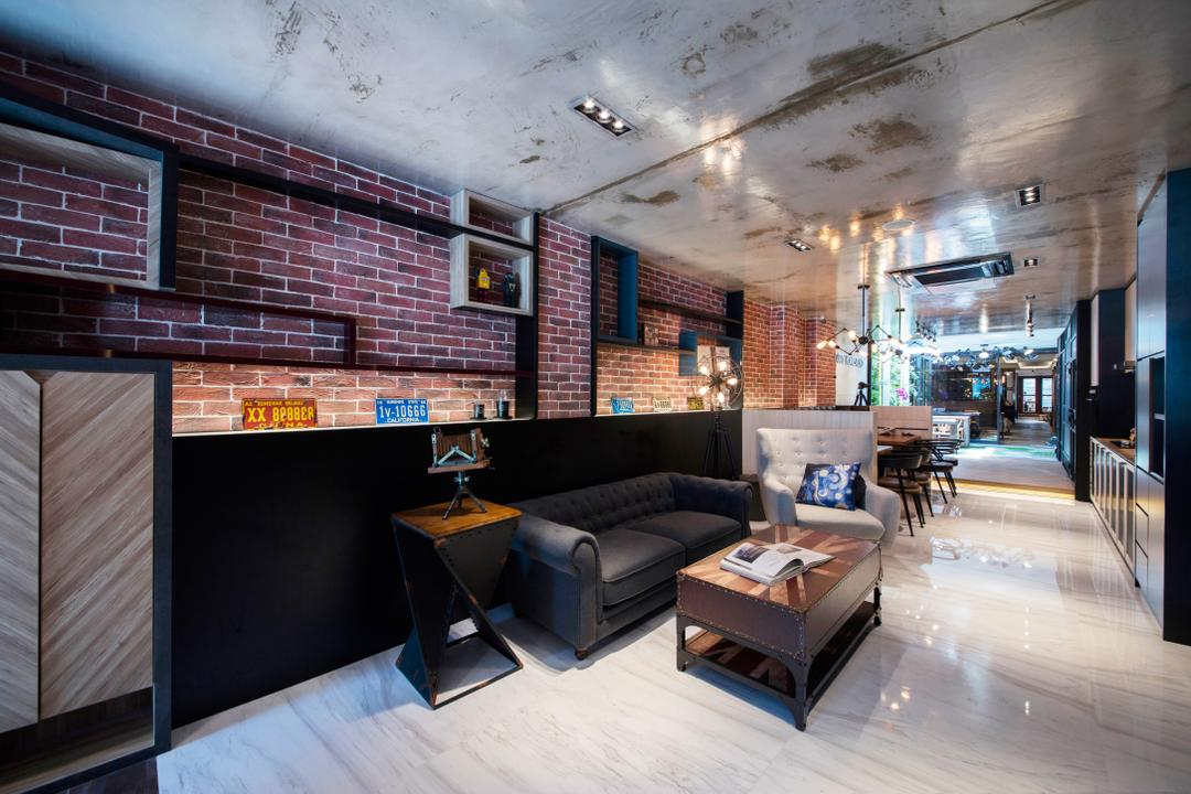 Starry Homestead Balestier Showroom, Starry Homestead, Modern, Living Room, Commercial, Flood, Nature, Brick