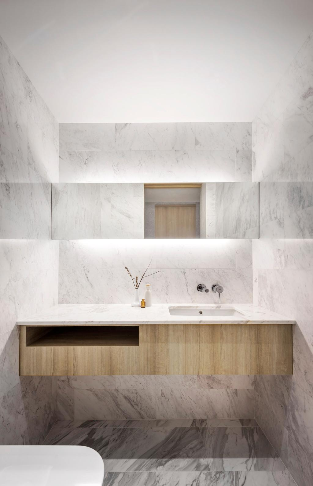 Modern, Landed, Bathroom, Ply House, Architect, UPSTAIRS_