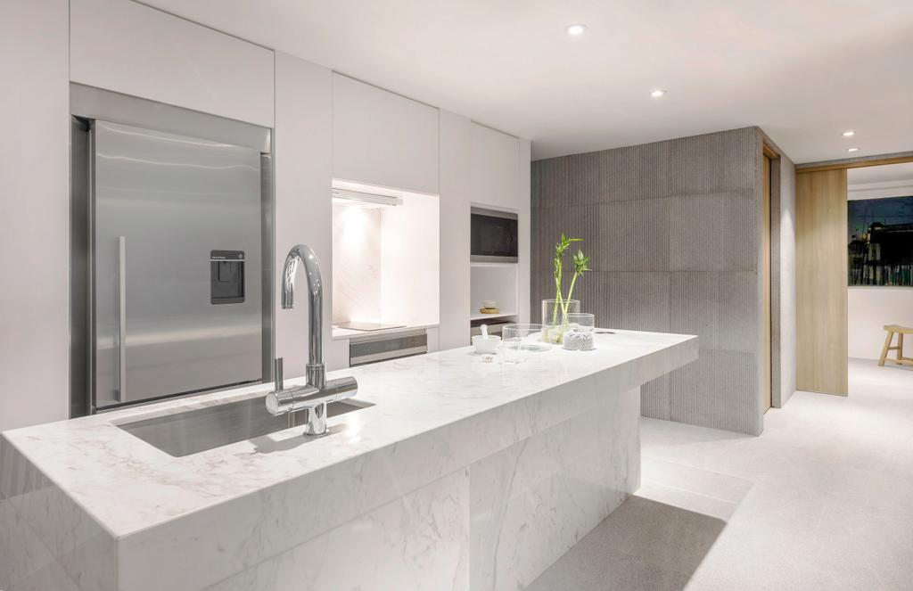 Modern, Landed, Kitchen, Ply House, Architect, UPSTAIRS_, Bathroom, Indoors, Interior Design, Room
