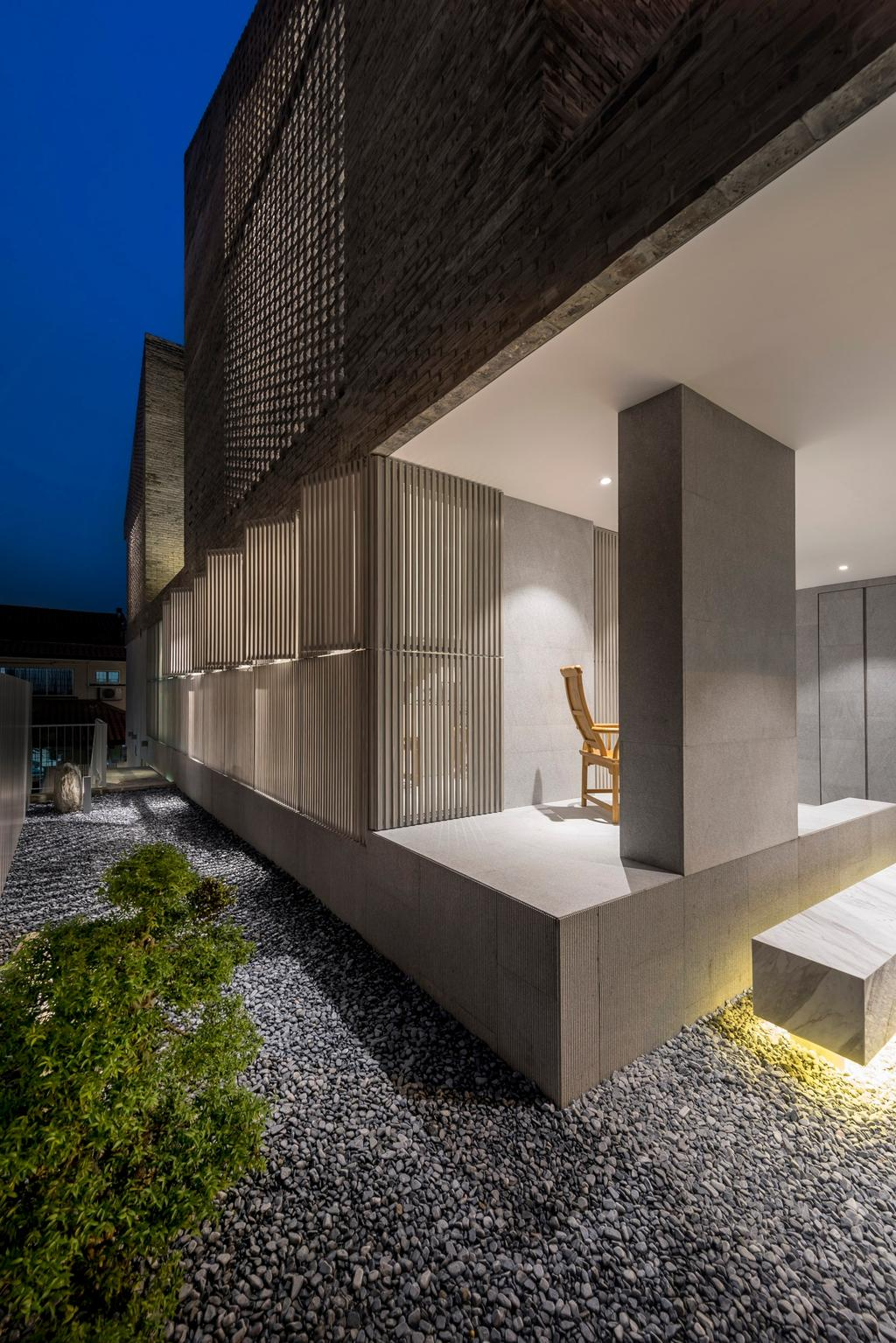 Modern, Landed, Garden, Ply House, Architect, UPSTAIRS_