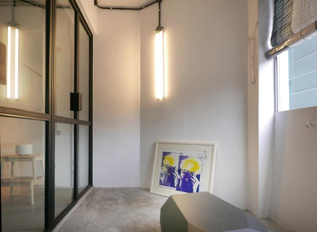 Scandinavian, Condo, Balcony, The Crate Apartment, Architect, UPSTAIRS_