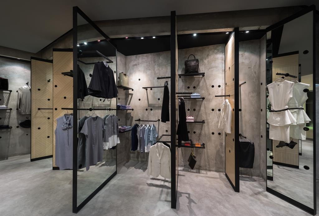 Crocodile Concept Boutique, Commercial, Architect, UPSTAIRS_, Industrial, Apparel, Clothing