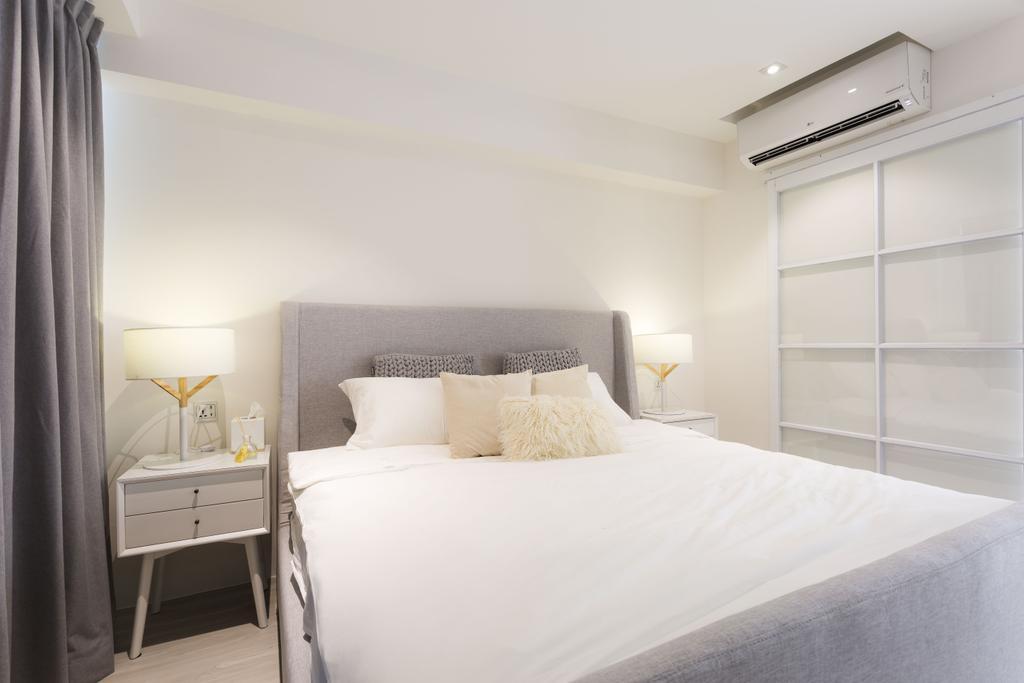 Minimalistic, HDB, Bedroom, 9 Joo Seng Road, Interior Designer, Mr Shopper Studio, Scandinavian, Bathroom, Indoors, Interior Design, Room