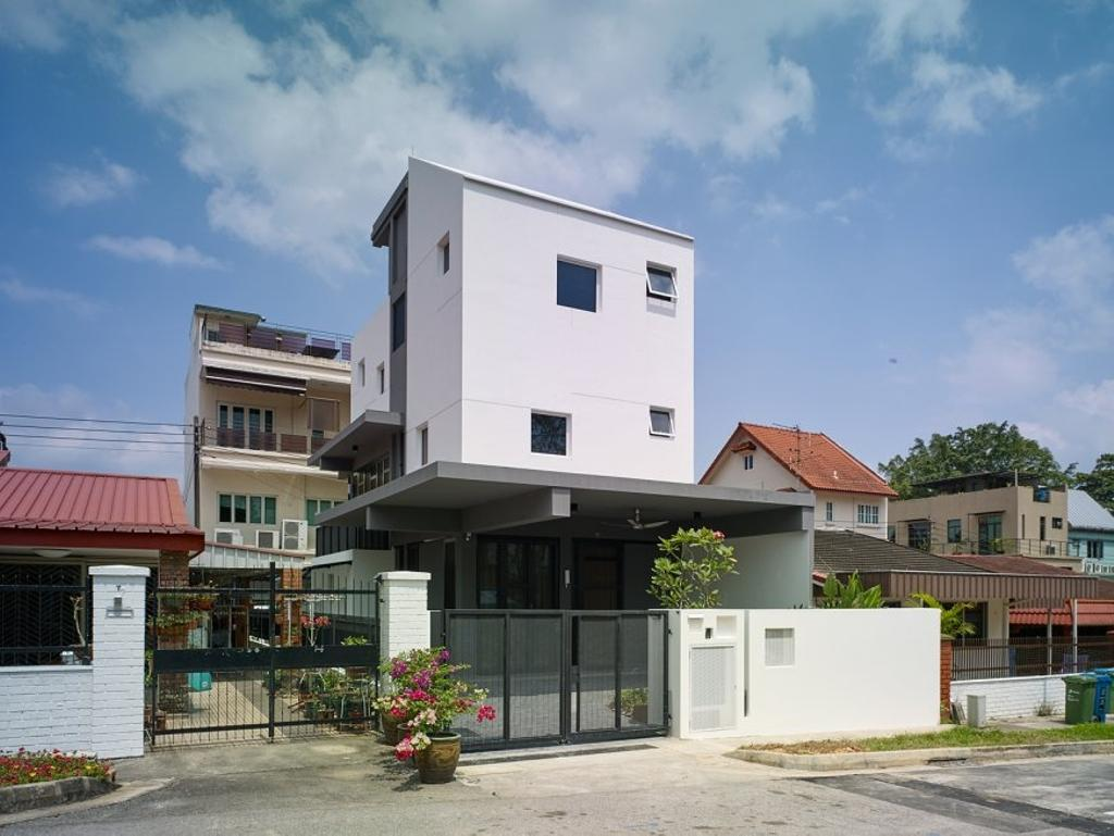 Minimalistic, Landed, House at JM, Architect, OWMF Architecture, Exterior View