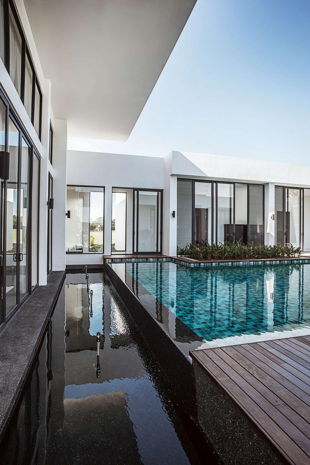 Modern, Landed, Pool House, Architect, Code Red Studio, Contemporary, Building, House, Housing, Villa