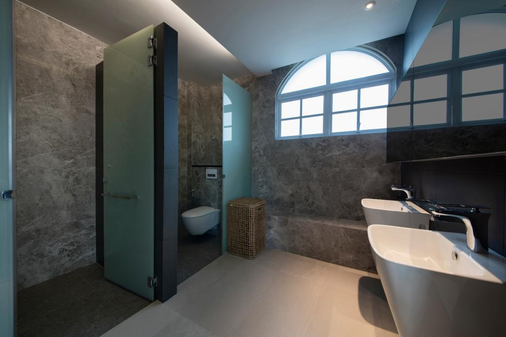 Modern, Landed, Bathroom, Yarrow Road, Interior Designer, New Age Interior, Sink, Indoors, Interior Design, Room, Luggage, Suitcase