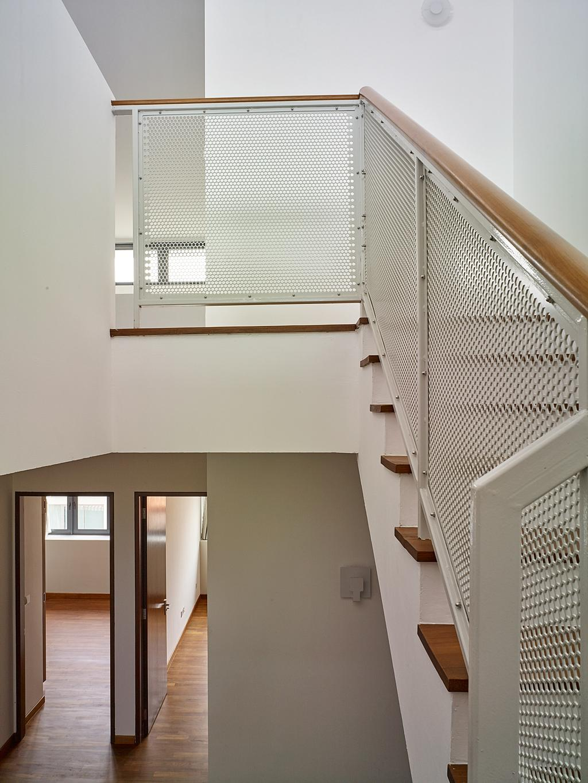 Modern, Landed, House at TS, Architect, OWMF Architecture, HDB, Building, Housing, Indoors, Loft, Aluminium