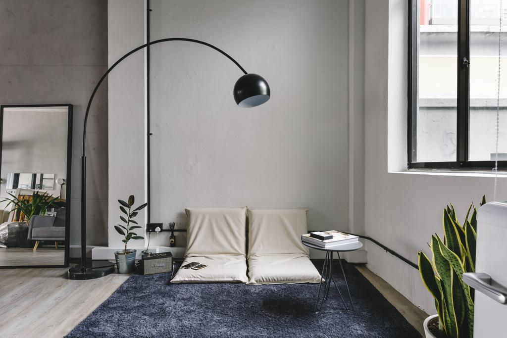 Lim Tua Tow, Commercial, Interior Designer, The Local INN.terior 新家室, Industrial, Lounge Chair, Rug, Wooden Floor, Window Panel, Flora, Jar, Plant, Potted Plant, Pottery, Vase, Indoors, Room