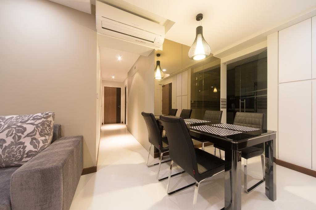 Modern, HDB, Dining Room, Yung Kuang, Interior Designer, D Initial Concept, Chair, Furniture, Indoors, Interior Design, Room