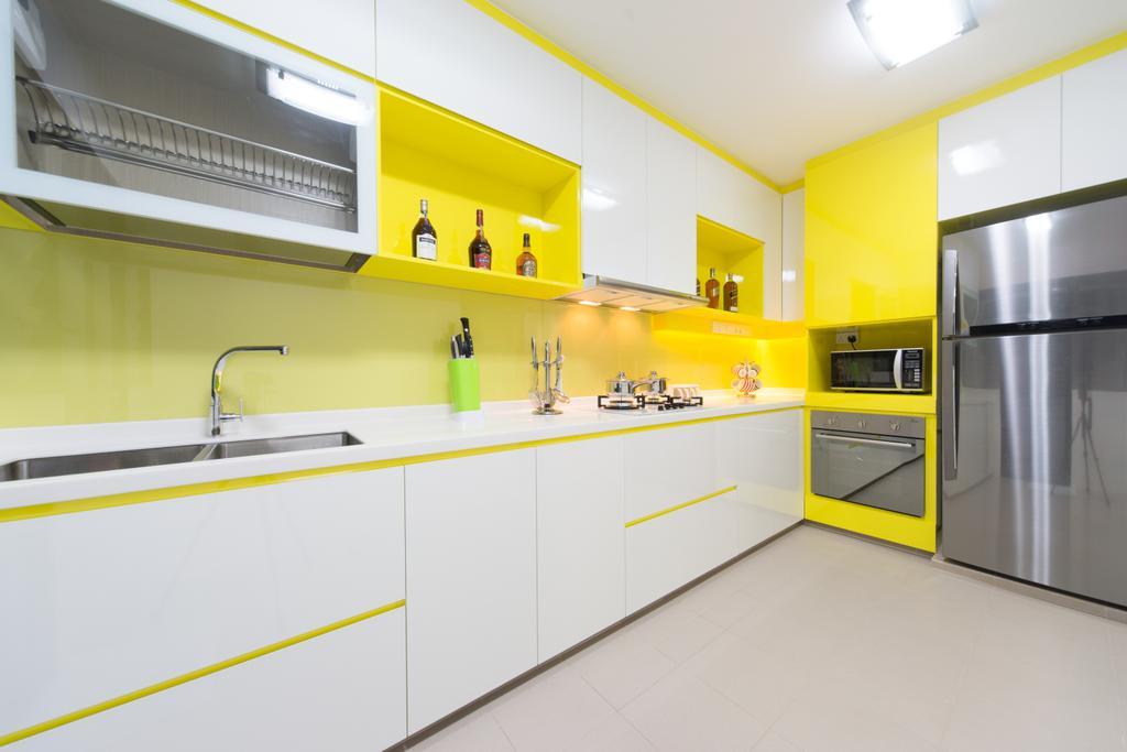 Minimalist, HDB, Kitchen, Segar, Interior Designer, D Initial Concept, Indoors, Interior Design, Appliance, Electrical Device, Oven