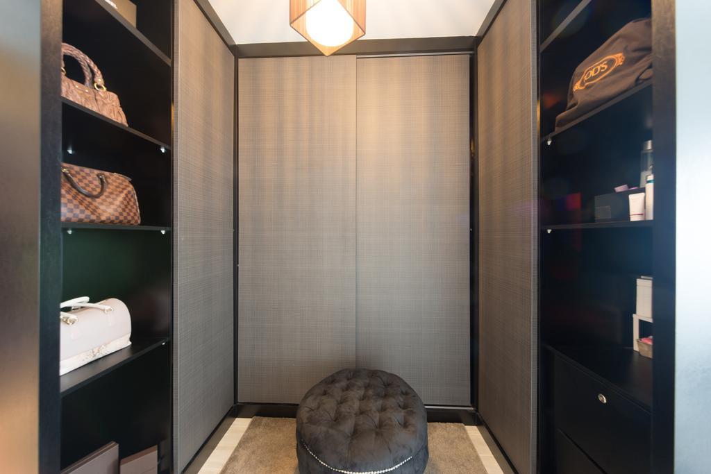 Modern, HDB, Punggol Walk, Interior Designer, D Initial Concept, Shelf