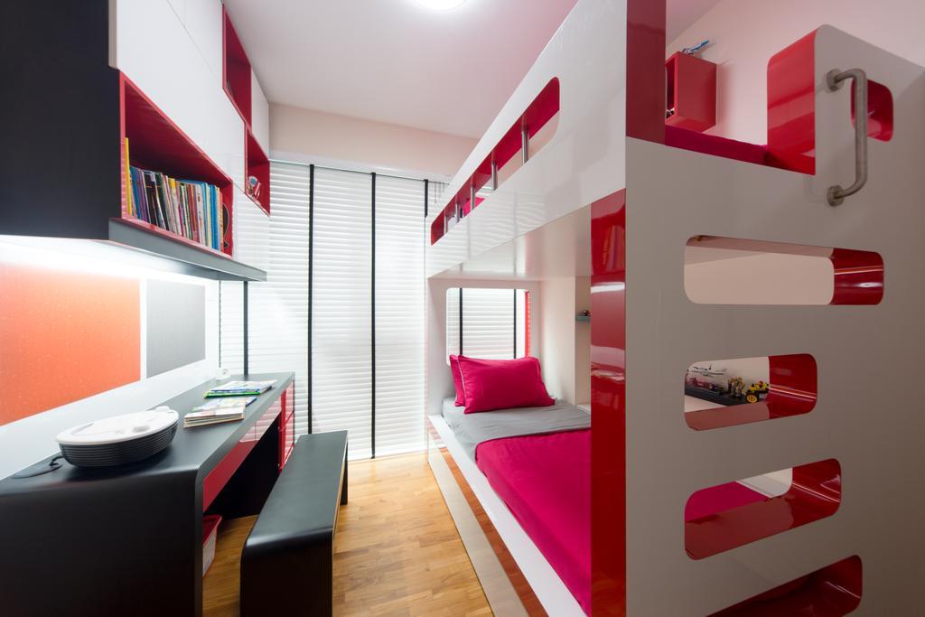 Modern, Condo, Bedroom, Esparina, Interior Designer, D Initial Concept, Indoors, Interior Design