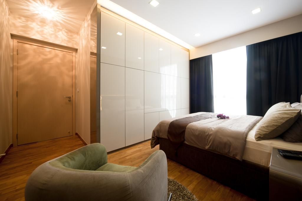 Modern, Condo, Bedroom, Esparina, Interior Designer, D Initial Concept, Couch, Furniture, Indoors, Interior Design, Room, Bed