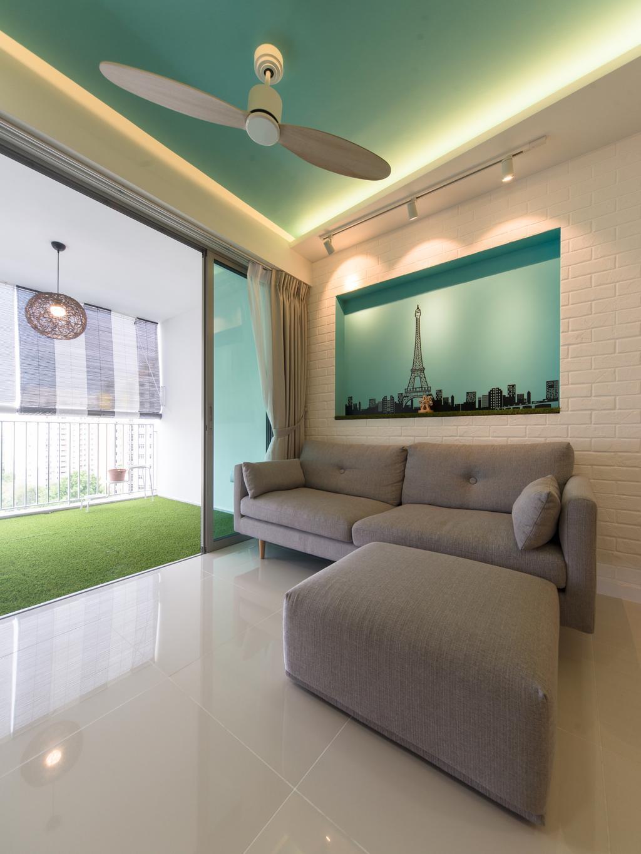 Minimalistic, Condo, Living Room, Parkland Residences, Interior Designer, D Initial Concept, Couch, Furniture, Indoors, Interior Design