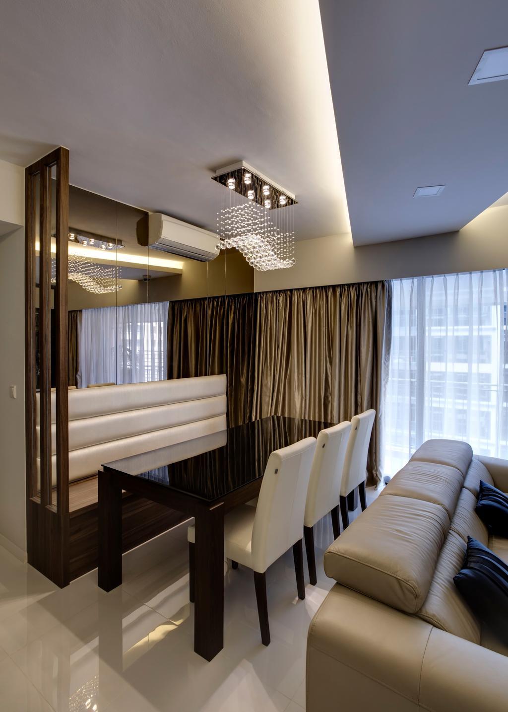 Modern, Condo, Dining Room, RiverParc Residence, Interior Designer, D Initial Concept, Indoors, Interior Design
