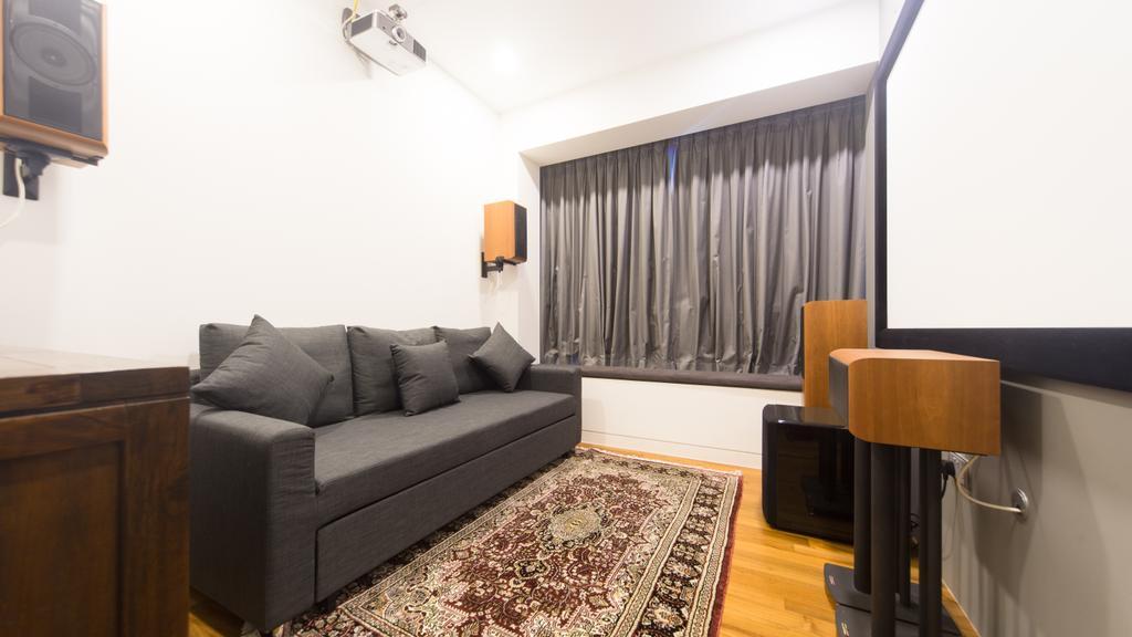 Modern, Condo, Saint Patrick Residences (Block 58), Interior Designer, D Initial Concept, Industrial, Couch, Furniture, Studio Couch