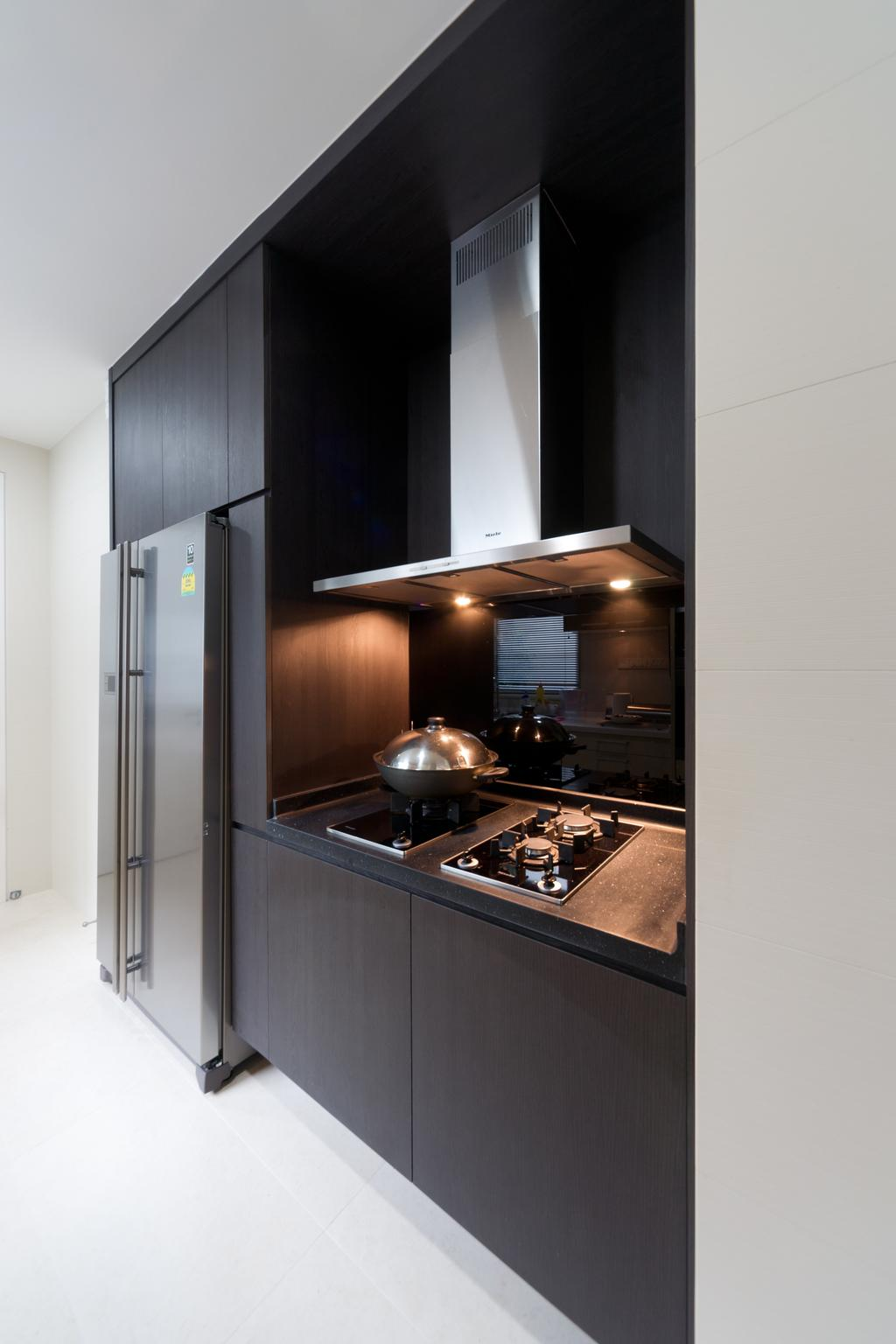 Minimalist, Condo, Kitchen, Scotts Highpark, Interior Designer, D Initial Concept, Appliance, Electrical Device, Oven