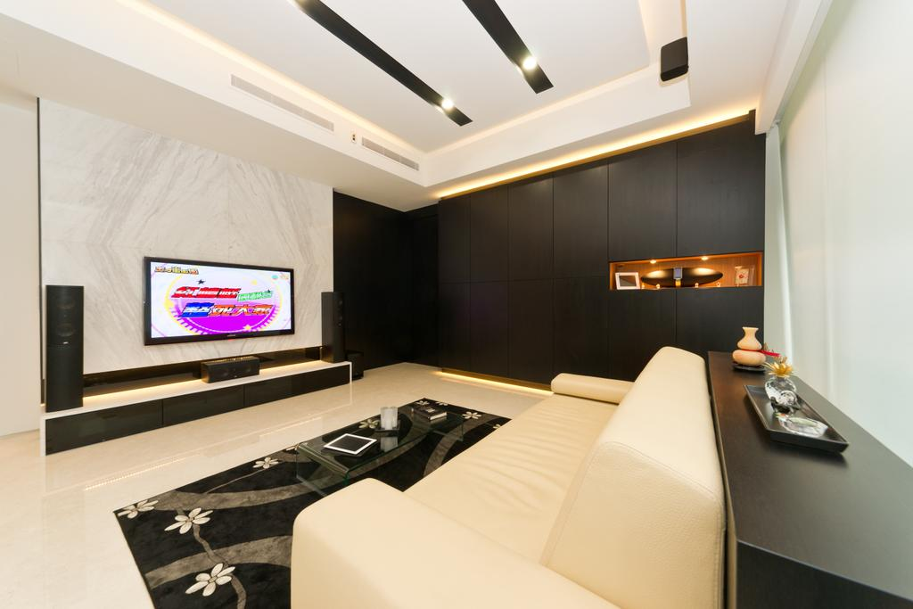 Minimalistic, Condo, Living Room, Scotts Highpark, Interior Designer, D Initial Concept, Indoors, Interior Design, Furniture, Tabletop