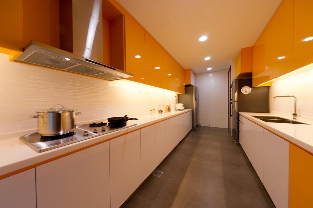 Modern, Landed, Kitchen, Eastwood Road, Interior Designer, D Initial Concept, Indoors, Interior Design