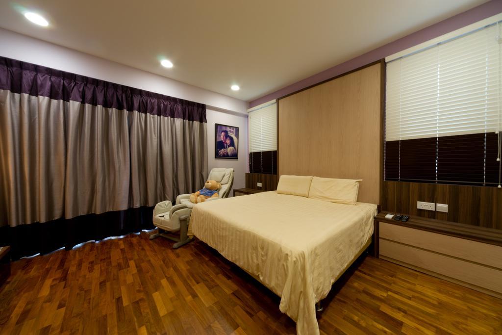 Modern, Landed, Bedroom, Eastwood Road, Interior Designer, D Initial Concept, Bed, Furniture, Indoors, Room