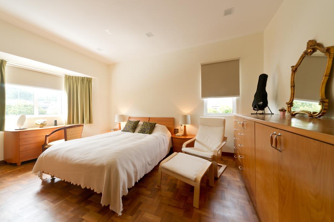 Jalan Bangket, D Initial Concept, Modern, Contemporary, Bedroom, Landed, Mirror, Indoors, Interior Design, Room, Spa, Sink, Furniture
