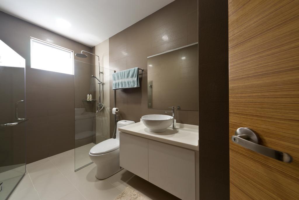 Modern, Landed, Bathroom, Jalan Bangket, Interior Designer, D Initial Concept, Contemporary, Toilet, Indoors, Interior Design, Room, Drawer, Furniture