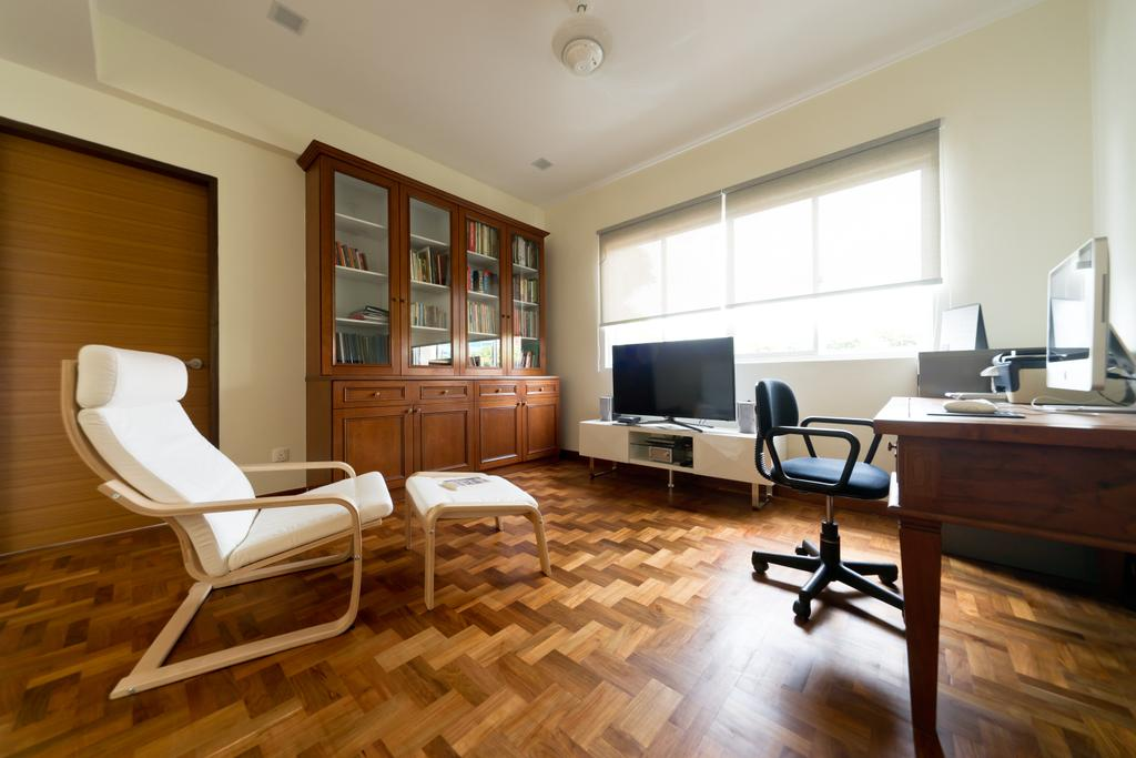 Modern, Landed, Study, Jalan Bangket, Interior Designer, D Initial Concept, Contemporary, Chair, Furniture, Indoors, Room, Hardwood, Wood, Couch
