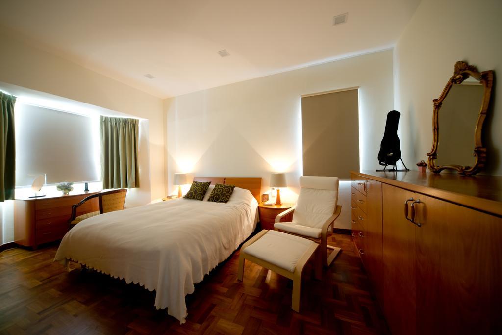 Modern, Landed, Bedroom, Jalan Bangket, Interior Designer, D Initial Concept, Contemporary, Indoors, Room, Mirror, Interior Design