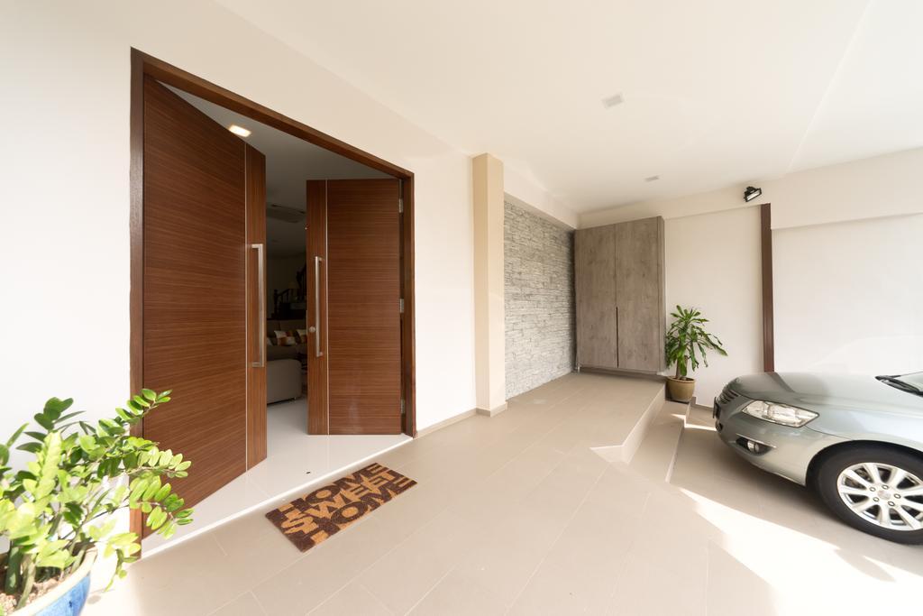 Modern, Landed, Jalan Bangket, Interior Designer, D Initial Concept, Contemporary, Building, House, Housing, Villa
