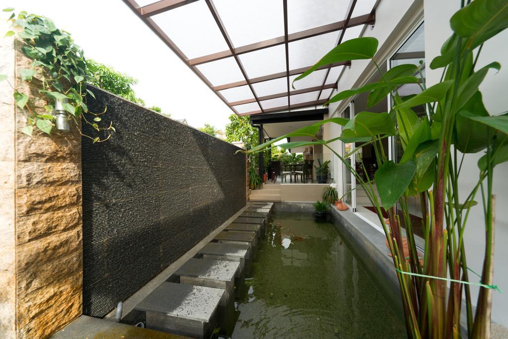 Modern, Landed, Garden, Jalan Bangket, Interior Designer, D Initial Concept, Contemporary, Flora, Ivy, Plant