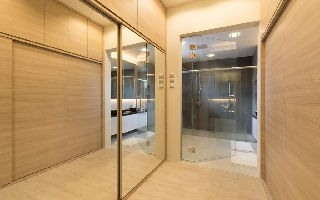 Modern, Landed, Sennett Terrace, Interior Designer, D Initial Concept, Contemporary, Door, Sliding Door