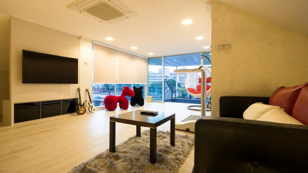 Modern, Landed, Sennett Terrace, Interior Designer, D Initial Concept, Contemporary, Dining Table, Furniture, Table, Chair