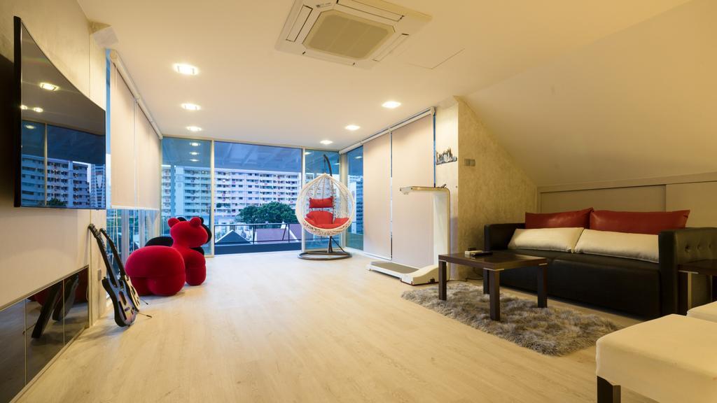 Modern, Landed, Living Room, Sennett Terrace, Interior Designer, D Initial Concept, Contemporary, Flooring, Couch, Furniture