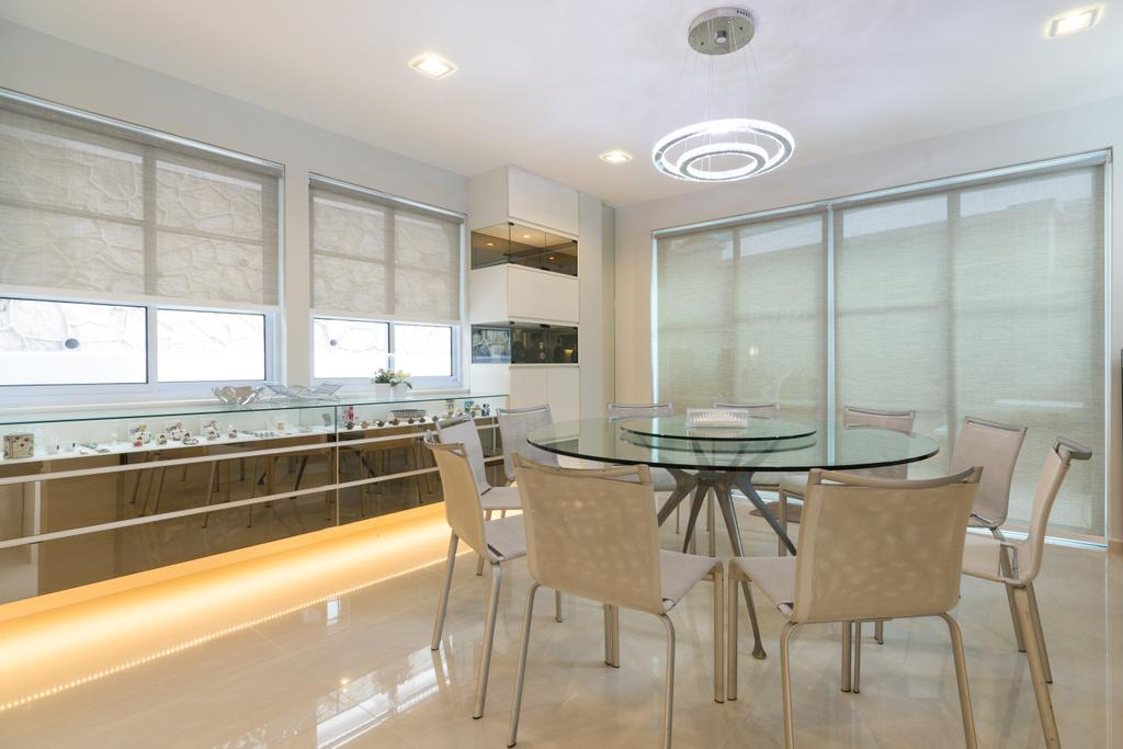 Modern, Landed, Dining Room, Sennett Terrace, Interior Designer, D Initial Concept, Contemporary, Chair, Furniture, Dining Table, Table, Indoors, Interior Design, Room