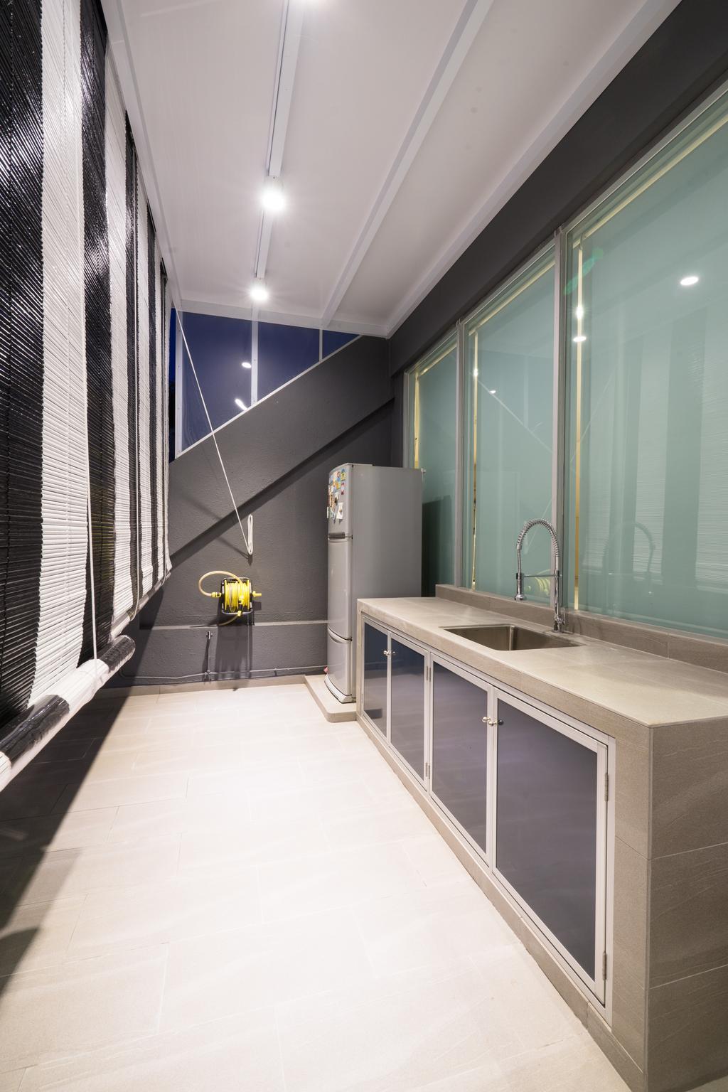 Modern, Landed, Kitchen, Sennett Terrace, Interior Designer, D Initial Concept, Contemporary, Indoors, Interior Design
