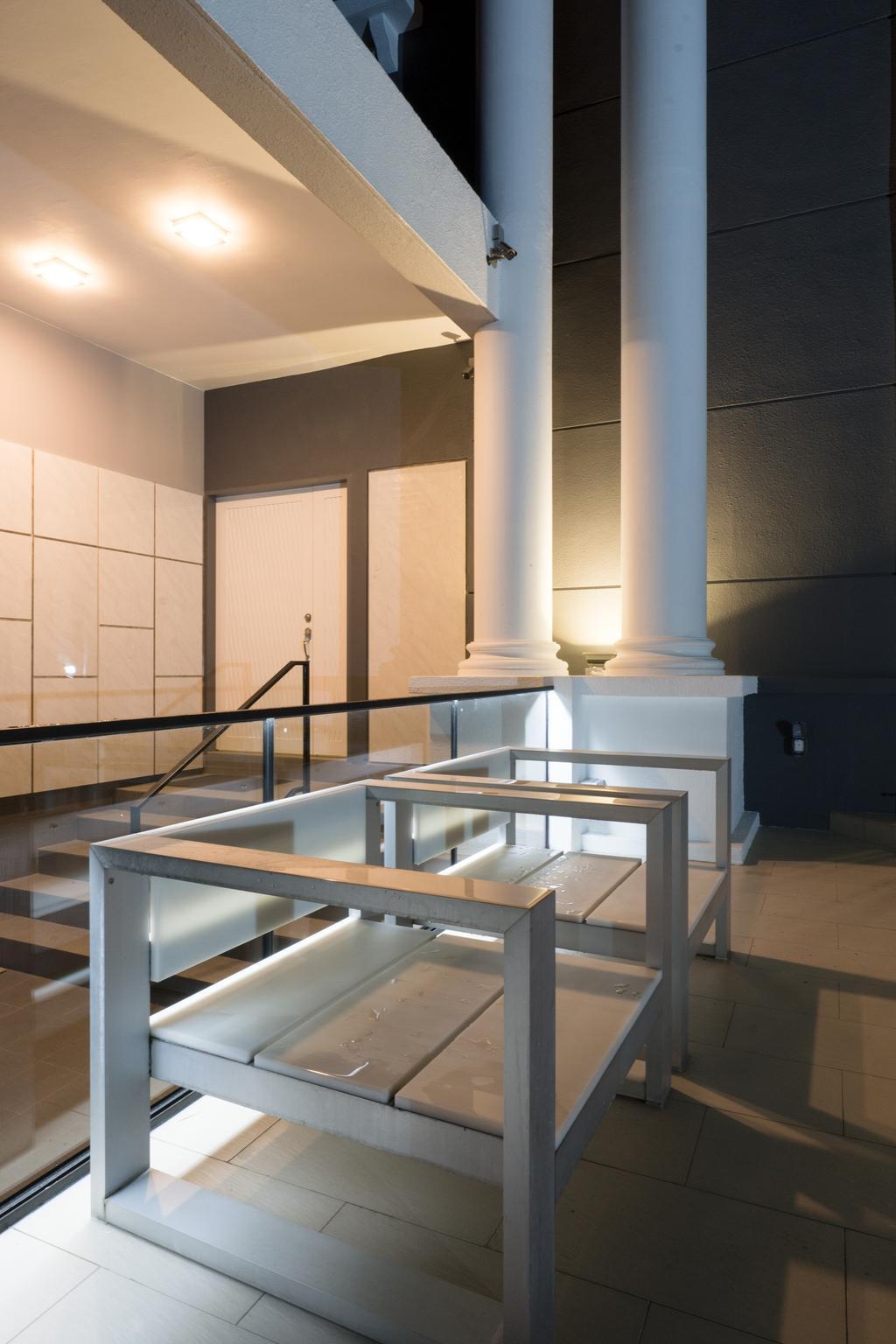 Modern, Landed, Sennett Terrace, Interior Designer, D Initial Concept, Contemporary, Sink, Dining Table, Furniture, Table