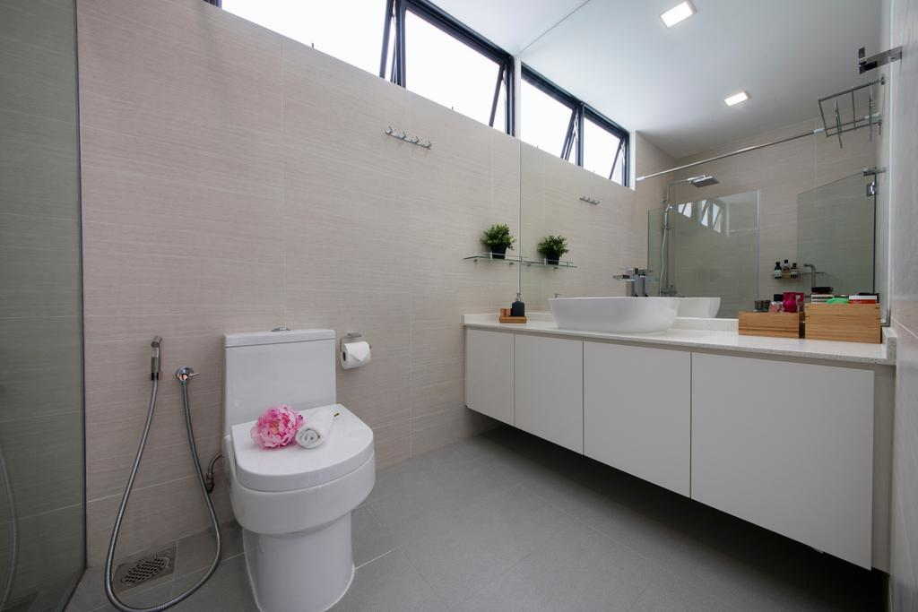 Traditional, Condo, Bathroom, Chuan Park, Interior Designer, Forefront Interior, Toilet, Indoors, Interior Design, Room
