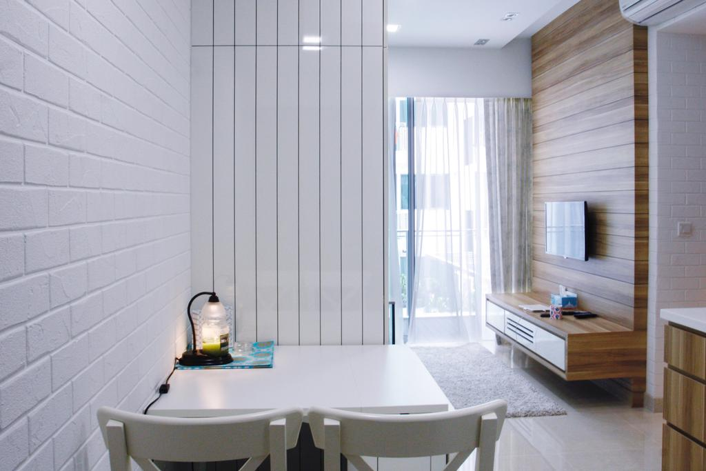 Minimalistic, Condo, Dining Room, 22 Hillview Terrace, Interior Designer, Corazon Interior