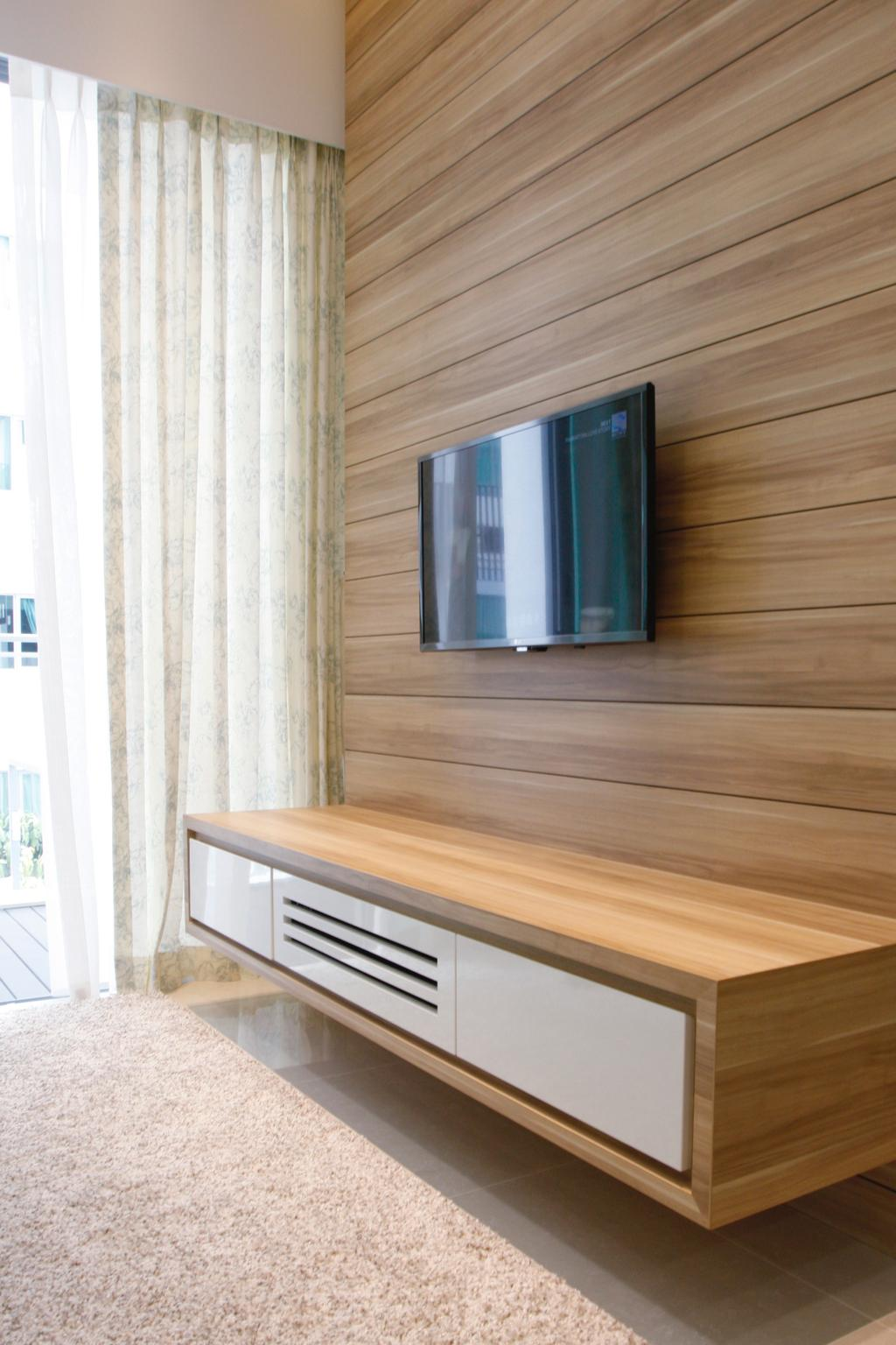 Minimalistic, Condo, Living Room, 22 Hillview Terrace, Interior Designer, Corazon Interior, Hardwood, Wood, Coffee Table, Furniture, Table