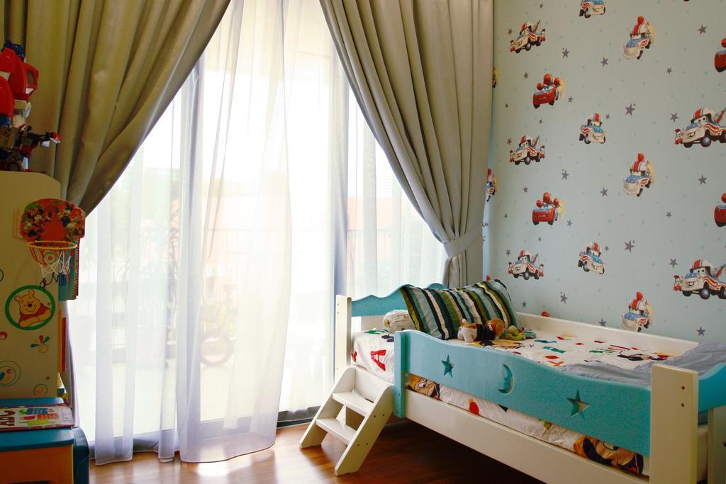 Contemporary, HDB, Bedroom, 20 Bedok, Interior Designer, Corazon Interior, Curtain, Home Decor