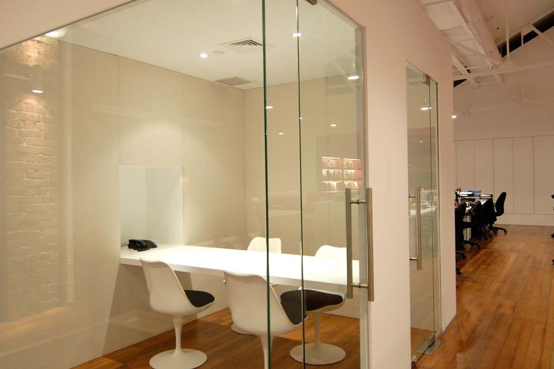 BBH, Ministry of Design, Contemporary, Commercial, Glass Doors, Glass Walls, Wooden Flooring, Laminated Flooring, White Study Desk, White Chair, Indoors, Interior Design, Dining Room, Room