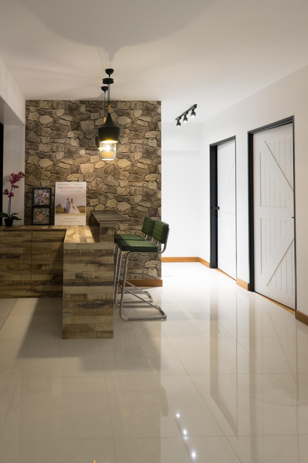 Scandinavian, HDB, Living Room, Edgedale Plains (Block 662A), Interior Designer, Nitty Gritty Interior